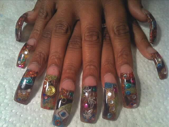 Encapsulated Nails Designs